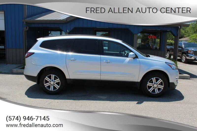 2016 Chevrolet Traverse for sale at Fred Allen Auto Center in Winamac IN