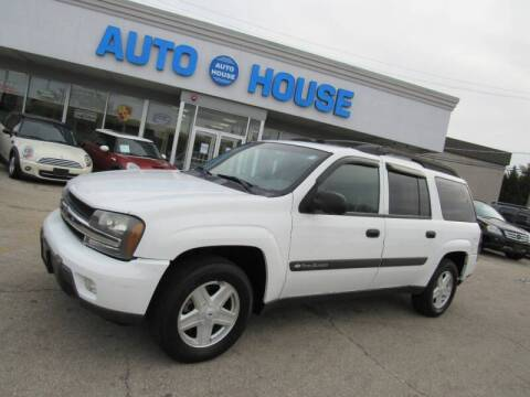 2003 Chevrolet TrailBlazer for sale at Auto House Motors in Downers Grove IL