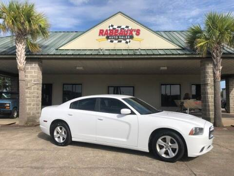 2013 Dodge Charger for sale at Rabeaux's Auto Sales in Lafayette LA