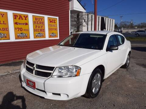 2010 Dodge Avenger for sale at Mack's Autoworld in Toledo OH