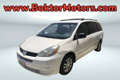 2005 Toyota Sienna for sale at Boktor Motors in North Hollywood CA