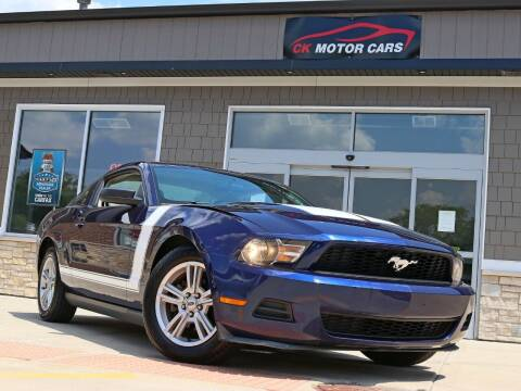 2010 Ford Mustang for sale at CK MOTOR CARS in Elgin IL