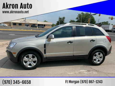 2013 Chevrolet Captiva Sport for sale at Akron Auto - Fort Morgan in Fort Morgan CO