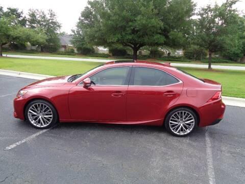 2014 Lexus IS 250 for sale at BALKCUM AUTO INC in Wilmington NC