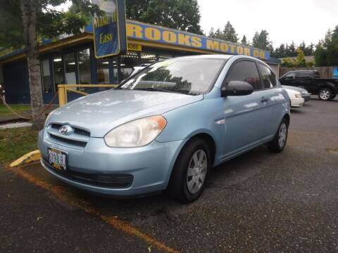 2007 Hyundai Accent for sale at Brooks Motor Company, Inc in Milwaukie OR