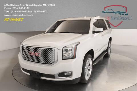 2016 GMC Yukon for sale at Elvis Auto Sales LLC in Grand Rapids MI