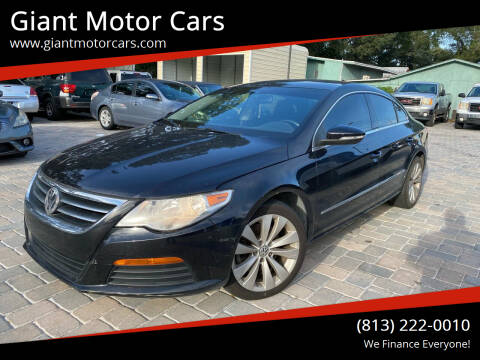 2012 Volkswagen CC for sale at Giant Motor Cars in Tampa FL