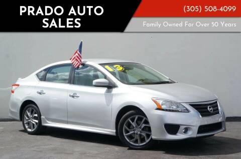 2013 Nissan Sentra for sale at Prado Auto Sales in Miami FL