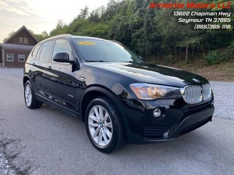2017 BMW X3 for sale at Armenia Motors in Seymour TN