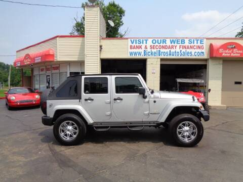 2008 Jeep Wrangler Unlimited for sale at Bickel Bros Auto Sales, Inc in Louisville KY