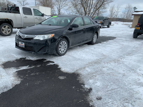 2012 Toyota Camry for sale at Excellent Autos in Amsterdam NY