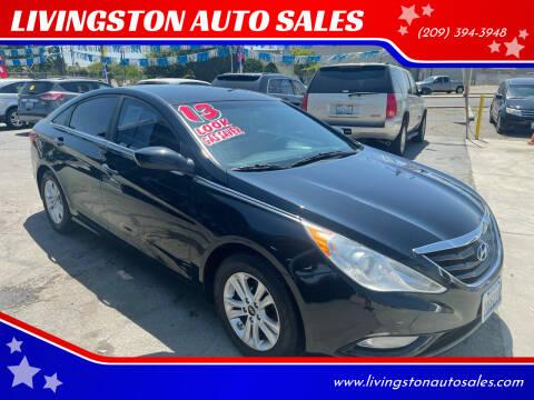 2013 Hyundai Sonata for sale at LIVINGSTON AUTO SALES in Livingston CA