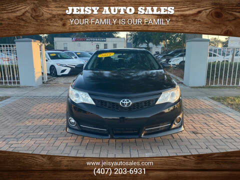 2014 Toyota Camry for sale at JEISY AUTO SALES in Orlando FL