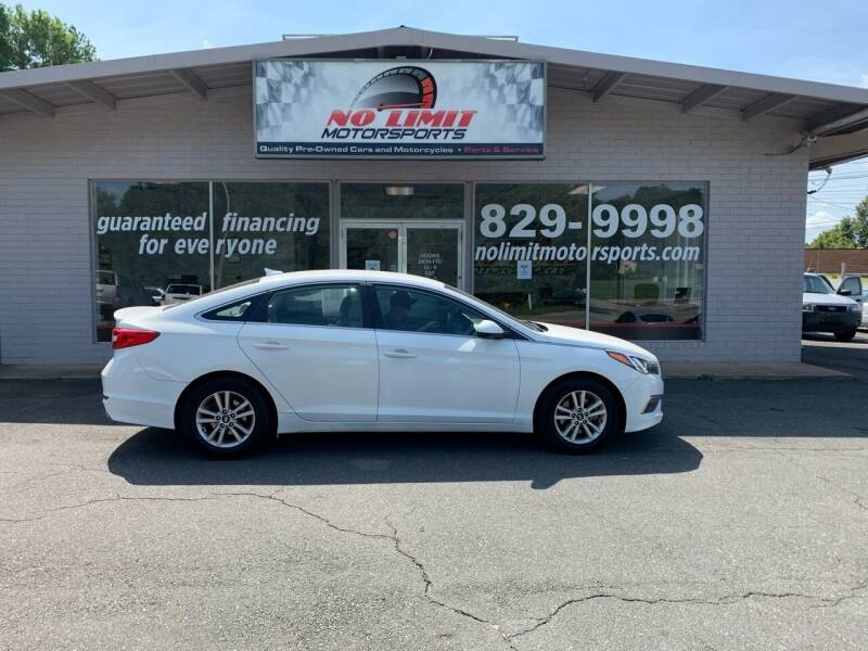 2015 Hyundai Sonata for sale at NO LIMIT MOTORSPORTS in Belmont NC