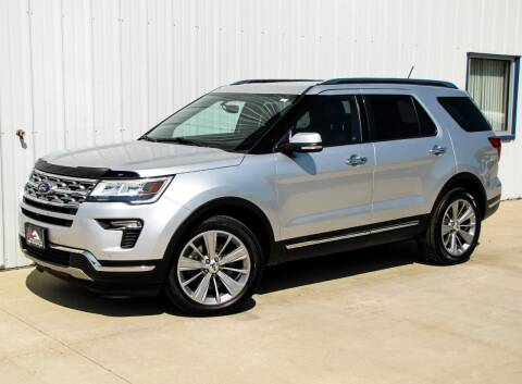 2018 Ford Explorer for sale at Lyman Auto in Griswold IA