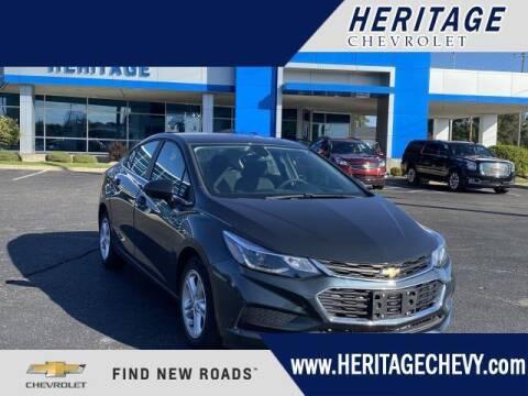 2017 Chevrolet Cruze for sale at HERITAGE CHEVROLET INC in Creek MI