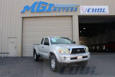 2006 Toyota Tacoma for sale at MGI Motors in Sacramento CA