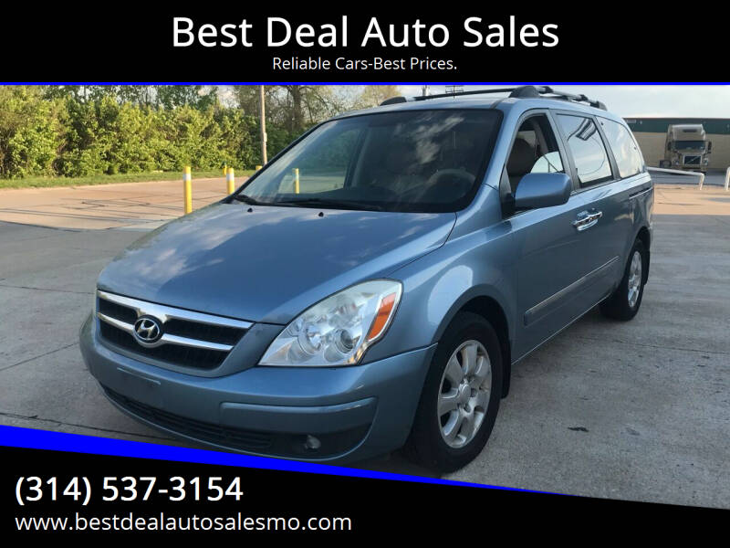 2008 Hyundai Entourage for sale at Best Deal Auto Sales in Saint Charles MO