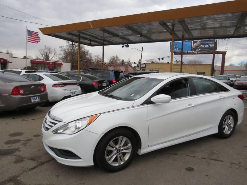 2014 Hyundai Sonata for sale at Nile Auto Sales in Denver CO