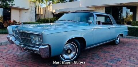 1965 Chrysler Imperial for sale at Matt Hagen Motors in Newport NC