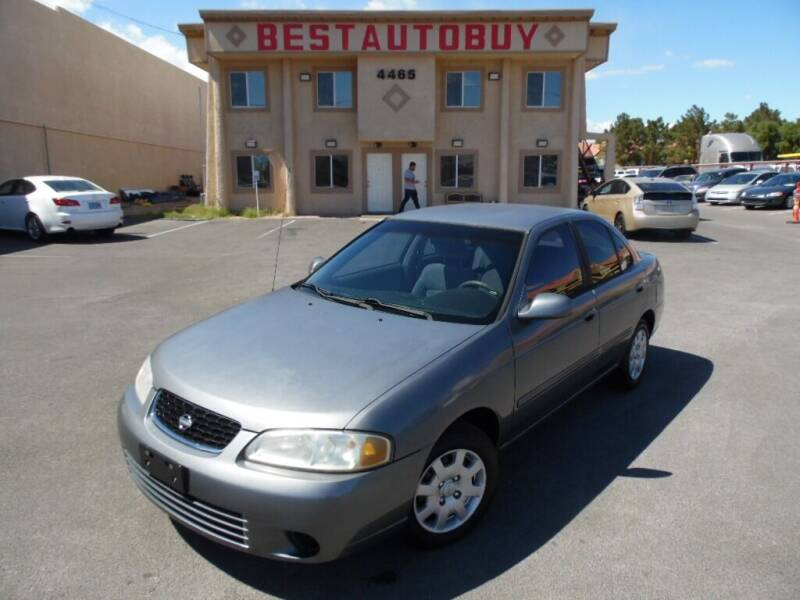 2001 Nissan Sentra for sale at Best Auto Buy in Las Vegas NV