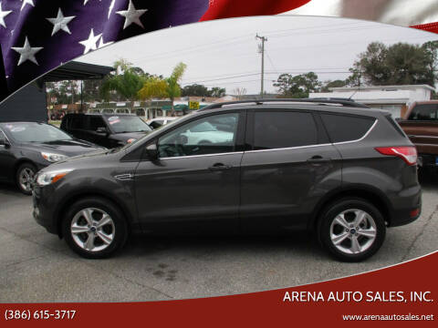2013 Ford Escape for sale at ARENA AUTO SALES,  INC. in Holly Hill FL