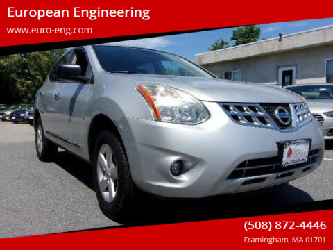 2012 Nissan Rogue for sale at European Engineering in Framingham MA