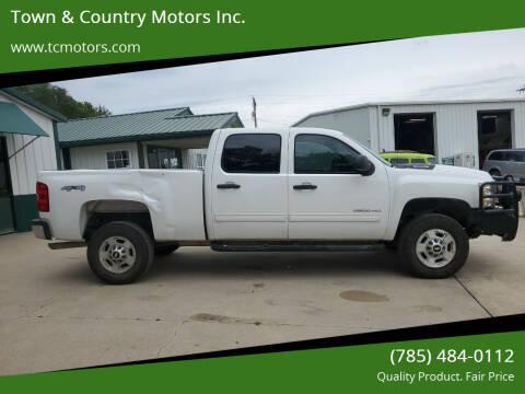 2011 Chevrolet Silverado 2500HD for sale at Town & Country Motors Inc. in Meriden KS