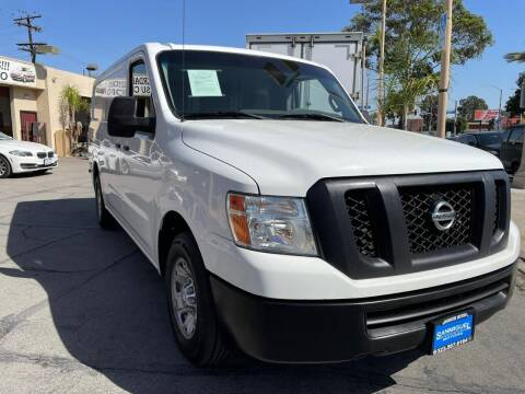 2015 Nissan NV Cargo for sale at Sanmiguel Motors in South Gate CA