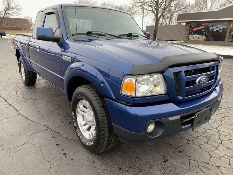 2011 Ford Ranger for sale at Hawkins Motors Sales in Hillsdale MI