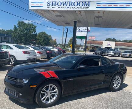 2014 Chevrolet Camaro for sale at Showroom Auto Sales of Charleston in Charleston SC