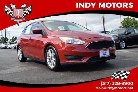 2018 Ford Focus for sale at Indy Motors Inc in Indianapolis IN