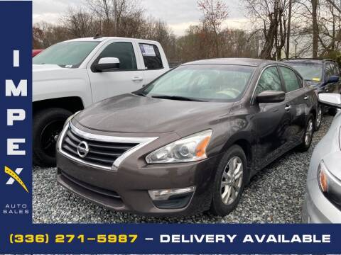 2014 Nissan Altima for sale at Impex Auto Sales in Greensboro NC