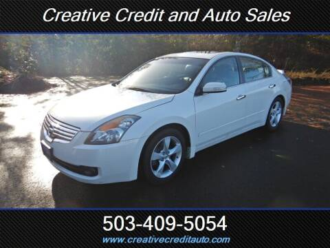 2008 Nissan Altima for sale at Creative Credit & Auto Sales in Salem OR