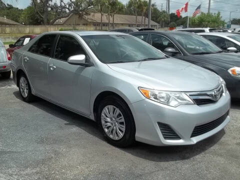 2012 Toyota Camry for sale at PJ's Auto World Inc in Clearwater FL