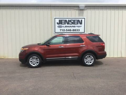2014 Ford Explorer for sale at Jensen's Dealerships in Sioux City IA