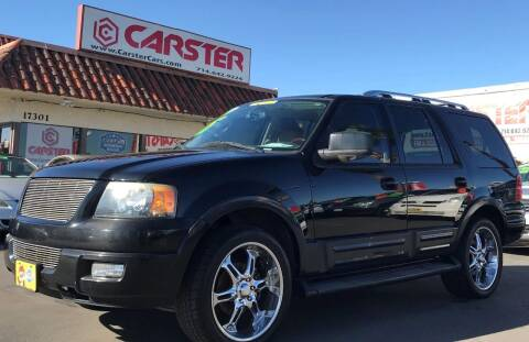 2005 Ford Expedition for sale at CARSTER in Huntington Beach CA