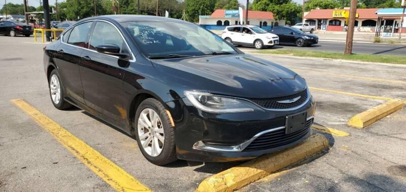 2015 Chrysler 200 for sale at C.J. AUTO SALES llc. in San Antonio TX