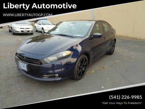 2016 Dodge Dart for sale at Liberty Automotive in Grants Pass OR