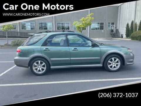 2006 Subaru Impreza for sale at Car One Motors in Seattle WA