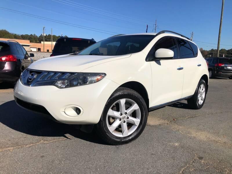 2009 Nissan Murano for sale at Atlas Auto Sales in Smyrna GA