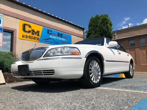 2003 Lincoln Town Car for sale at Car Mart Auto Center II, LLC in Allentown PA