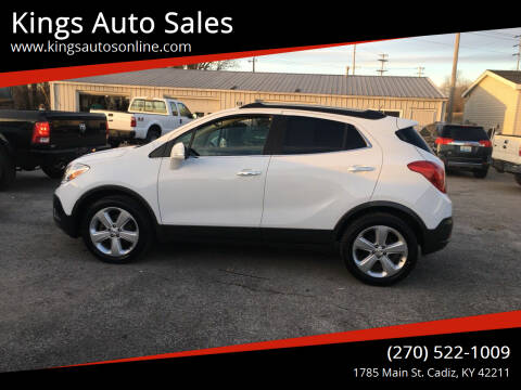 2016 Buick Encore for sale at Kings Auto Sales in Cadiz KY