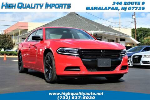 2018 Dodge Charger for sale at High Quality Imports in Manalapan NJ