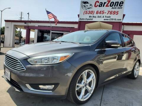 2015 Ford Focus for sale at CarZone in Marysville CA