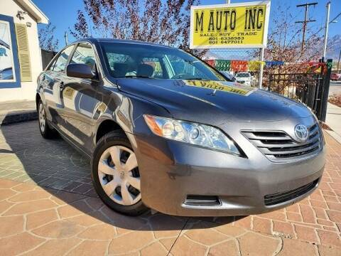 2009 Toyota Camry for sale at M AUTO, INC in Millcreek UT