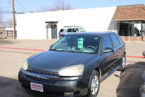 2005 Chevrolet Malibu Maxx for sale at KD Motors in Lubbock TX