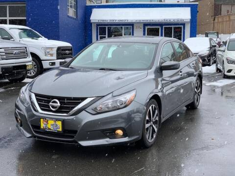 2018 Nissan Altima for sale at AGM AUTO SALES in Malden MA