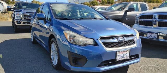 2014 Subaru Impreza for sale at Guy Strohmeiers Auto Center in Lakeport CA
