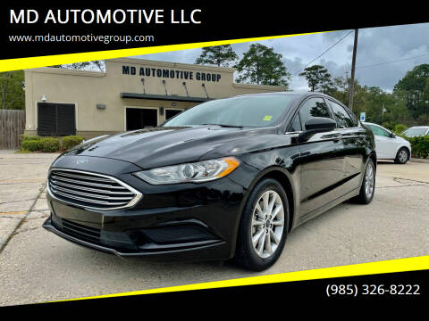 2017 Ford Fusion for sale at MD AUTOMOTIVE LLC in Slidell LA
